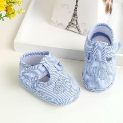 First Walker Newborn Girl Boy Soft Sole Crib Toddler Shoes Canvas Sneaker Girls Shoes