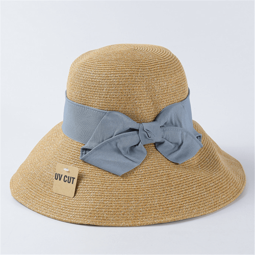 Summer fashion wild sunscreen woven hat