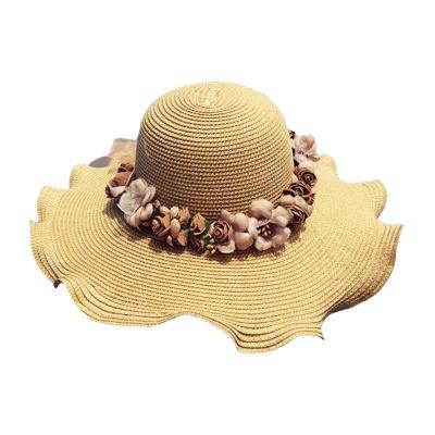 Summer Sun Protection Visor Holiday Shower Hat Beach Beach Hat Tide