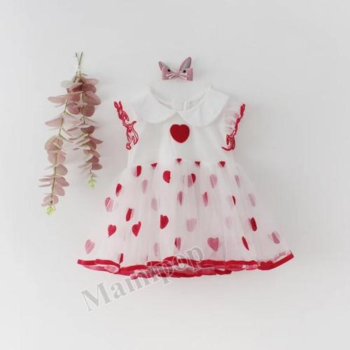 Spring/summer 2020 Baby  Clothing  Long Sleeve Triangle Dress