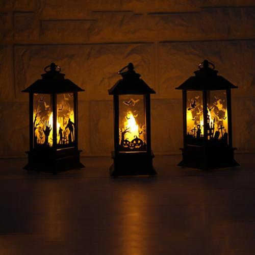 Halloween Simulation Flame Light Festival Decoration Small Oil Lamp