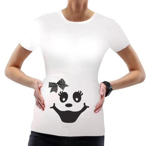 Halloween Pumpkin Print Clothing Breastfeeding  Top