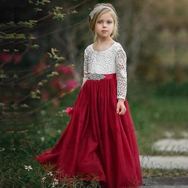 Children's dress Princess Dress Small host performance dress Piano Competition dress birthday princess dress