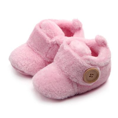 Sweet Shoes Newborn Baby Girls Princess Winter Warm Snow Shoe First Walkers