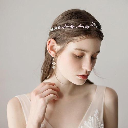 Simple Tiara  Headbands Pearl Photography Hair Accessories