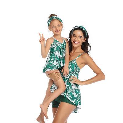 2020 Swimsuit Slim Split Conservative Fashion Swimsuit