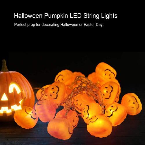 Halloween LED Pumpkin String