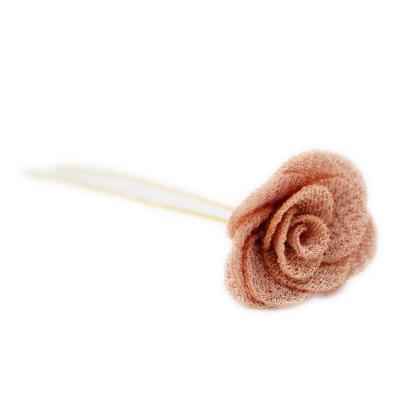 Fashion Girls Flower Hairpins Chiffon Kids Solid Hair Accessories