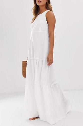 Vest Skin-Friendly Loose Maternity Dress