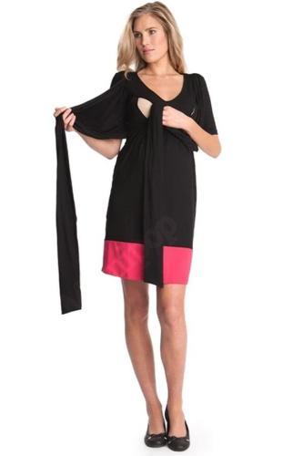 Fashion Summer  Nursing Criss-Cross Collar Knee Length Pregnancy Dresses