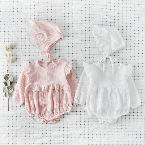 Cherry Long-sleeved Cotton Triangle  Dress Climbing Suit
