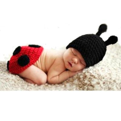 Baby Newborn Photography Props Accessories Fotografia Cute Ladybug