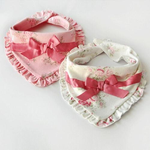 Baby Bibs Towel Clothes Bib Baby Newborn Infants Kids Toddler Floral Print Soft Bibs Saliva Towel