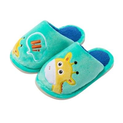 Toddler Boy Girl Little Kid Shoes Warm Cute Animal Kid Outdoor Shoes Fashion Cartoon Unisex Slip-On