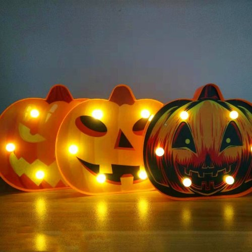 Halloween modeling light battery box light string decoration