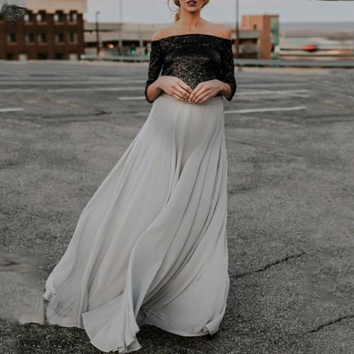 Maternity Fashion wild fairy wind skirt