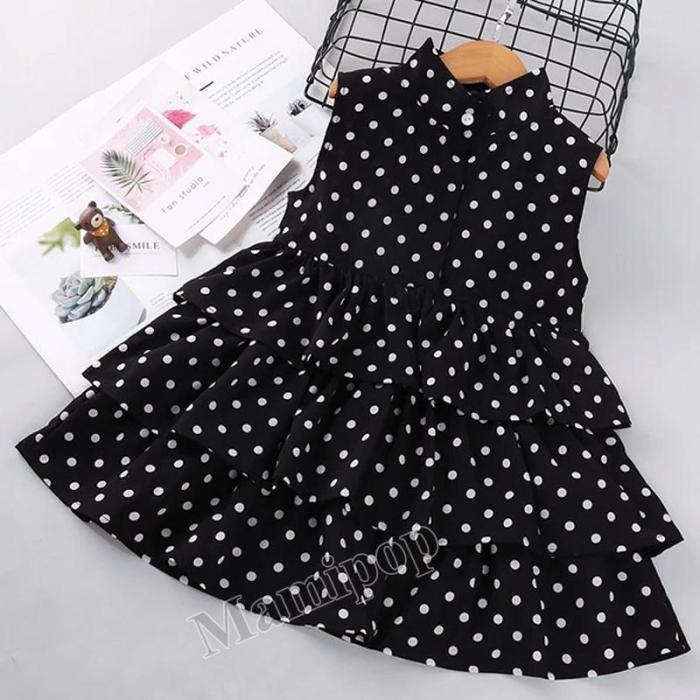 2020 girls' spring and summer children's clothing  sleeveless dress children's princess skirt