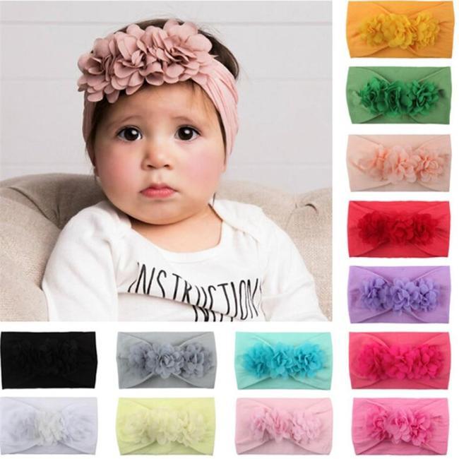 Accessories Headwear baby ToddlerFlower Headband