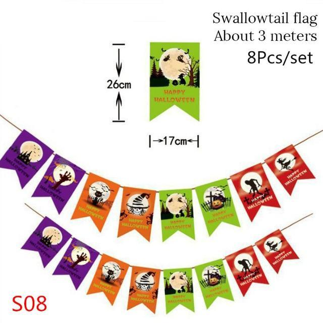 Ceiling Hanging Swirl Decoration Halloween Party Decoration