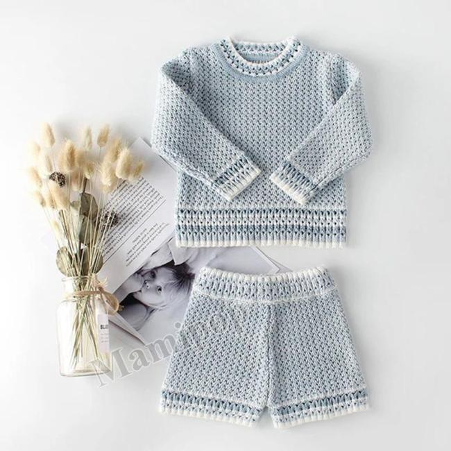 Two-year-old Girl Suit Princess Temperament Ladies Long-sleeved  Two Sets