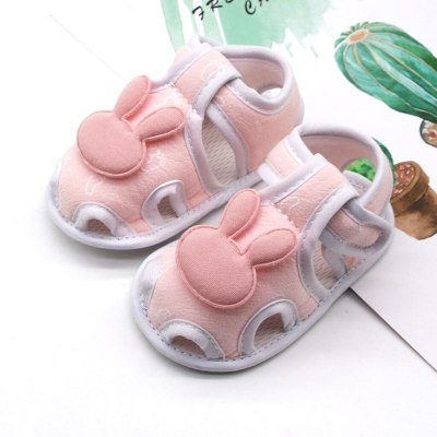Infant Newborn Baby Girls Boy Prewalker Printing Rabbit Cartoon Single Shoes Daily Use Fisrt Walkers