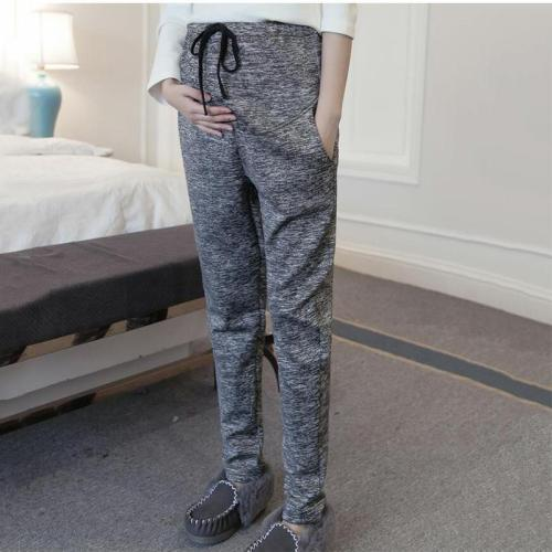 Maternity stomach lift elastic leggings
