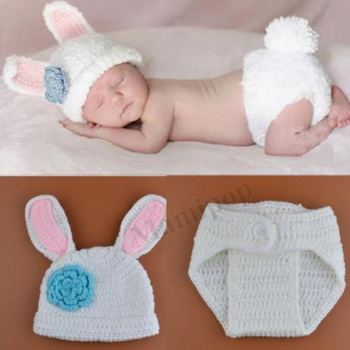 Baby Infant Newborn Handmade Knitwear Photography Prop