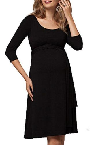 Maternity Multifunctional Nursing Short Dress