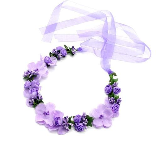 Flower wreath seaside holiday tiara hair headwear