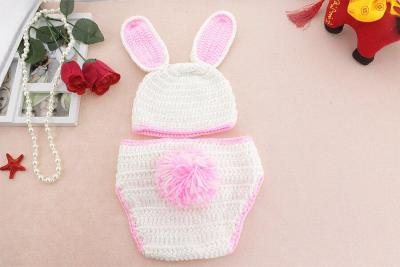 Baby photography accessories newborn props cute bunny suit