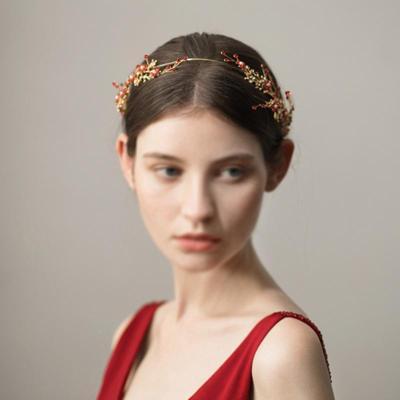 Women's Flower Twig Rhinestone Alloy Headdress