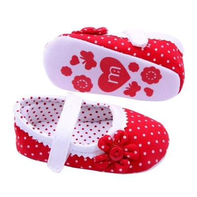 Girls Flower Baby Shoes Soft Sole Toddler PU Leather Crib Shoes Soft Sole Sneakers First Walker