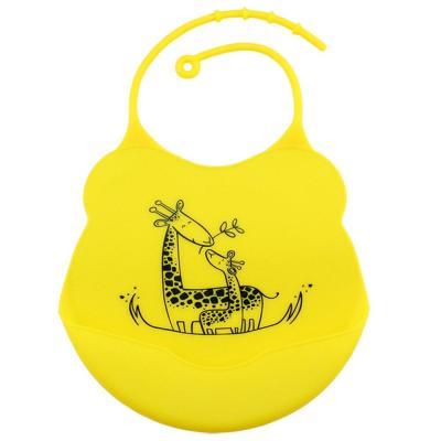 Fashion Baby Bibs Infants Kids cute Silicone Cartoon Pattern Bibs Baby Lunch Bibs Cute Waterproof