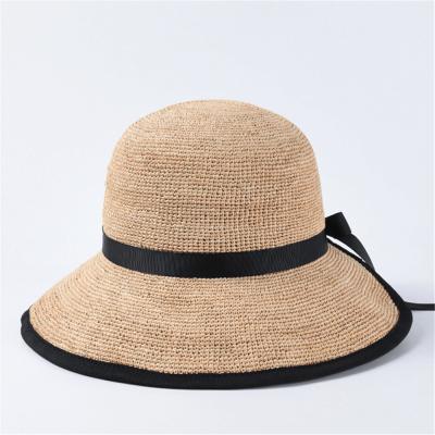 Summer sunscreen sunshade hand-woven straw hat