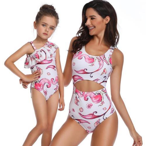2020 Mermaid Mother-Daughter Swimsuit