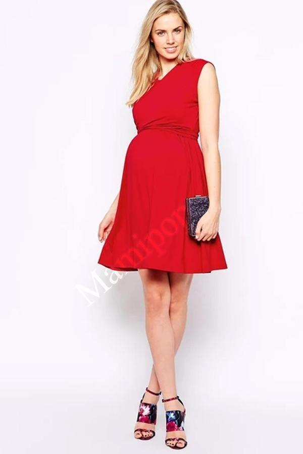 95% Tencel Sleeveless Clothes Nursing Sashes Maternity Dresses