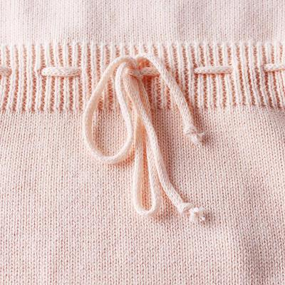2020  Baby Girl's Leaf Cotton Knitting Wool One Piece Clothes Bag Fart Kazakhstan Creeper
