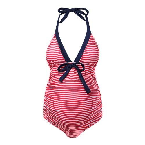 2020 New One Piece Maternity Swimsuit Bikini Beach Sexy Swimsuit