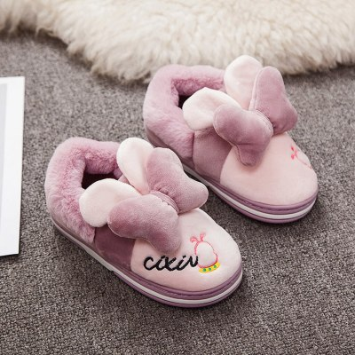 Fashion baby shoes children's lightweight wild indoor warm thick cotton shoes slippers hot baby girl shoes