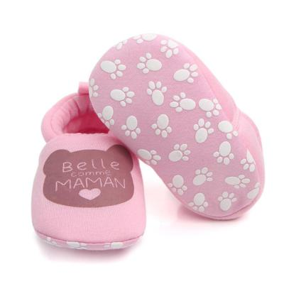 Lovely Cartoon Newborn Baby Girls Princess Winter Warm Snow Shoe First Walkers