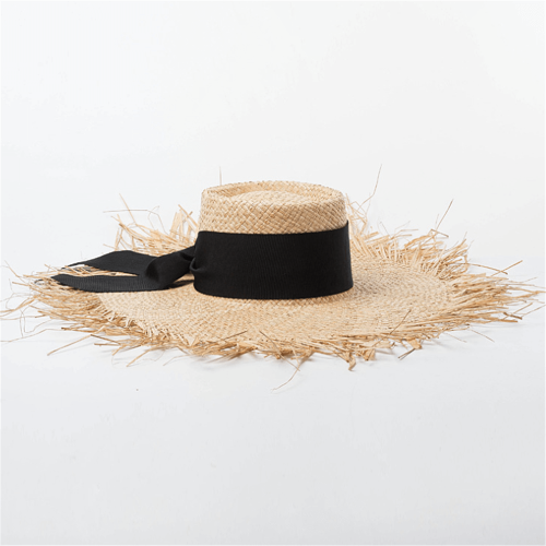 Spring And Summer   Hand-Woven  Straw Hat