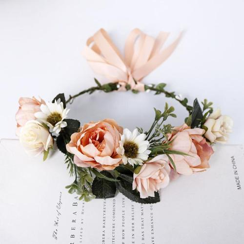 Bohemian sweet married seaside flower headwear