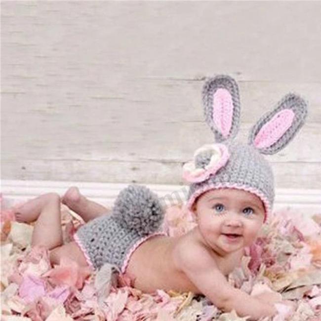 Baby Hat Crochet Wild Children Photo Props