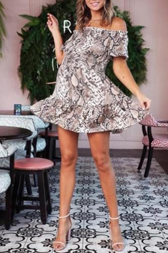 Maternity Printed Dress