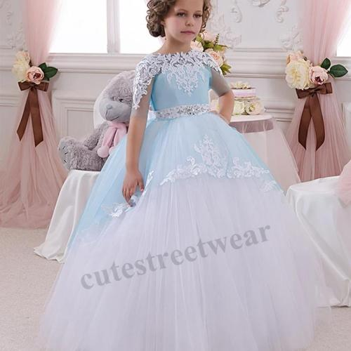 Autumn and winter children's skirt children's Princess pompous skirt dress