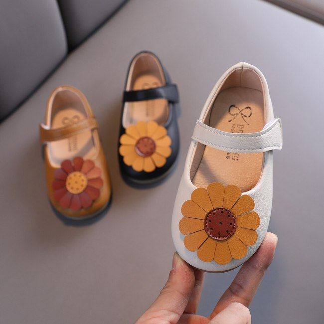 Toddler Sandalias Kids Baby Girls Shoes Princess Shoes Flower Casual Shoes Sandals baby girl shoes