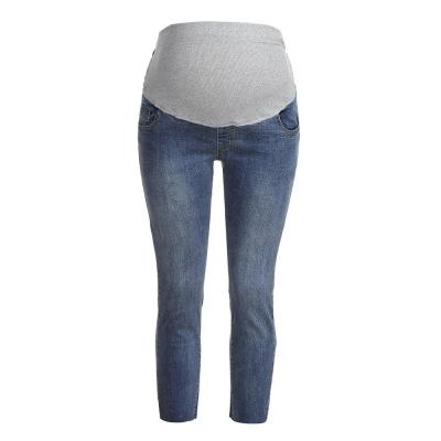 Fashion Female Ripped Maternity  Trousers
