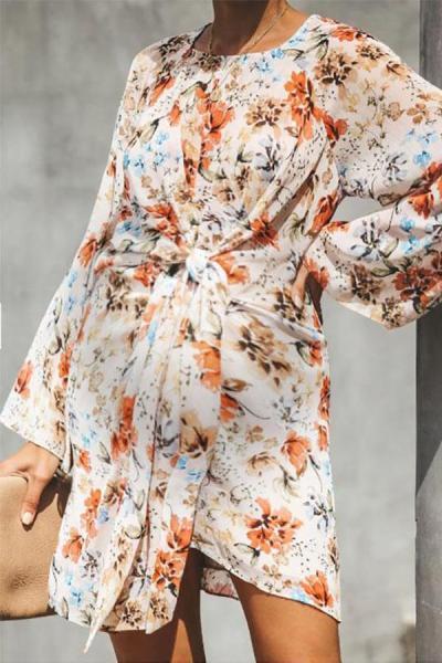 Maternity Printed Casual Dress