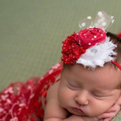 New born lace towel with headband fashion Photography Bbay Blanks