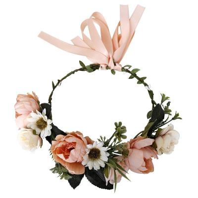 Bohemian sweet married seaside flower headwear
